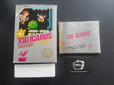 Kid Icarus (Nintendo NES) - Box and manual only