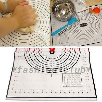 Silicone Baking Mat Sheet Cooking Liner Bakeware Rolling Mat Pastry Tool New