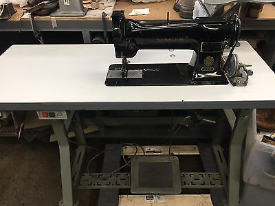 SINGER 110W125 Single Needle Roller Foot Commercial Sewing Machine