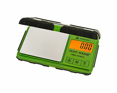 On Balance Tuff-Weigh Scale 100g x 0.01g GREEN
