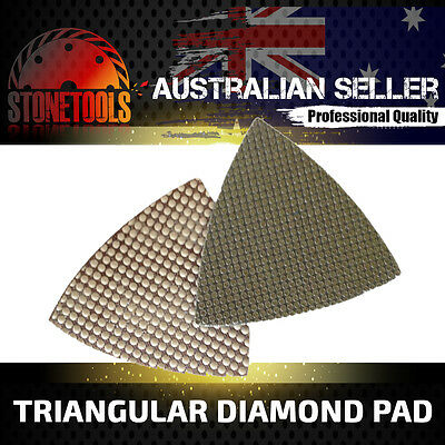 Triangular Diamond Pad for Grinding Polishing Concrete, Stone and Marble & Glass