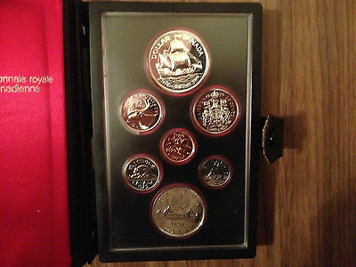 1979 Canada Silver Dollar Canadian Royal Mint Proof Coin Set