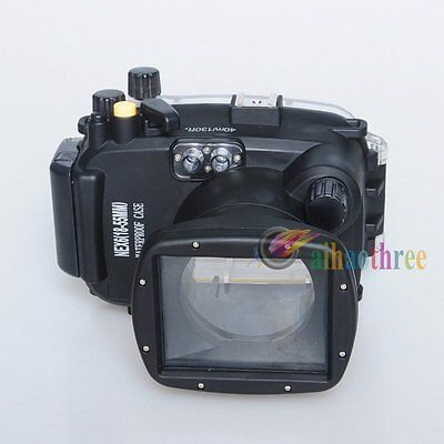 Meikon 40m 130ft Waterproof Diving Housing Case For Sony NEX6 18-55mm Camera【AU】