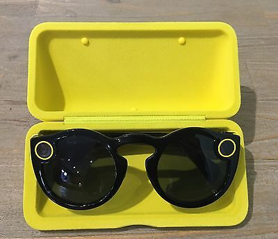 *WOW* Rare (Black) Snapchat Spectacles! Never Worn!