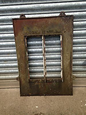 Victorian antique vintage cast iron roof light lantern 16 x 12 inch