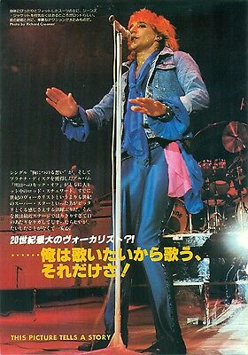 Rod Stewart - Clippings From Japanese Magazines Music Life 1978
