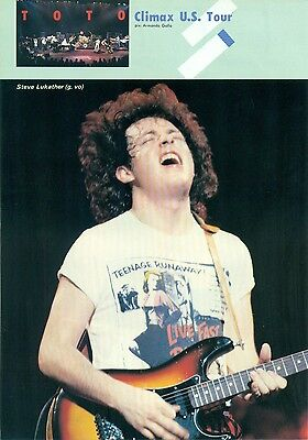 Toto / Steve Lukather - Clippings From Japanese Magazine Music Life 1983