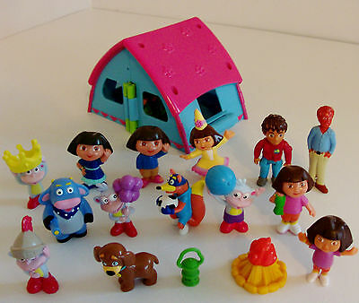 Dora the Explorer Toy Figure Bundle