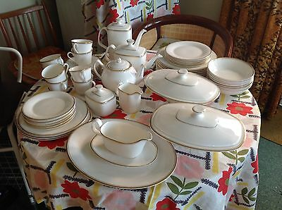 Royal Doulton Gold Concord 8 Place Dinner & Tea Service