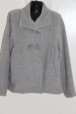 One Red Fly Girls Wool Jacket Coat Size 10