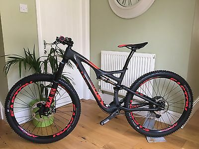 Specialized S-Works Stumpjumper FSR EVO 650b Carbon XTR Sram XX1 Easton Fox 34