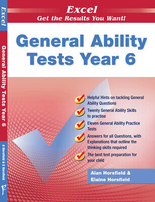 Excel Test Skills - General Ability Tests Year 6 - NEW - 9781741251715