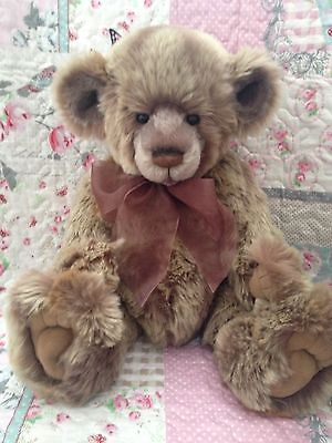 Charlie Bears William Iii 3Rd Rare Retired Limited Edition Bear