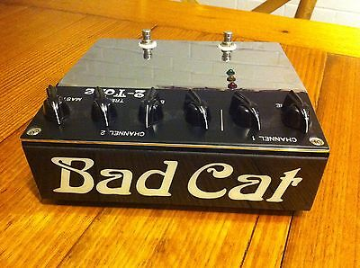 Bad Cat 2-Tone tube guitar preamp/overdrive/distortion/boost