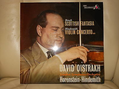 DAVID OISTRAKH BRUCH Scottish Fantasia HINDEMITH VIOLIN CONCERTO SDD 465 EX LP