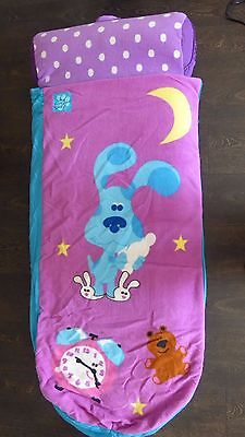 Fantastic Genuine 'Blues Clues' READY BED- complete with inflatable/carry bag