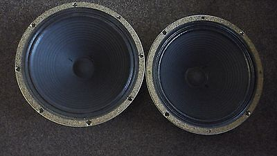 Celestion G12M Creamback 2 off 8 ohms 65 watts each mint
