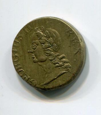 Gb 1700's 1/2 Guinea Weight