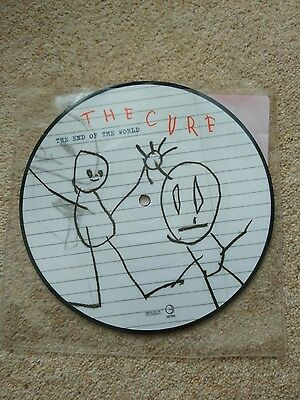 """The Cure """"The End of the World"""" 7"""" picture disc"""