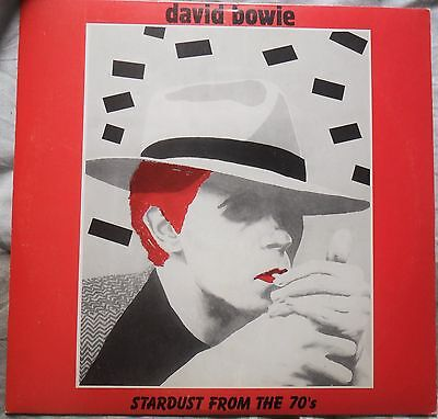 David Bowie Rare Unofficial US LP Stardust From The 70's BO 16