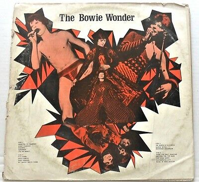 David Bowie Very Rare 1974 US Double Live  L.P The Bowie Wonder HH-BOW 4