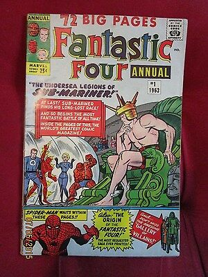Fantastic Four Annual  # 1   Nice Mid Grade Condition