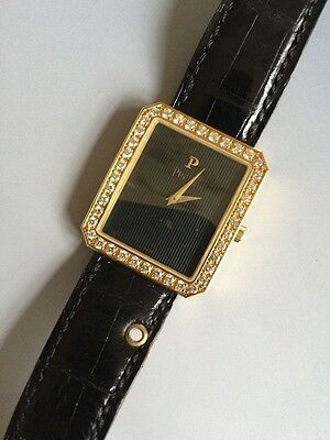 Piaget - Herren-Armbanduhr  - Diamond setted dress watch