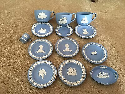 Wedgwood Jasper Ware Dishes And Cups Job Lot