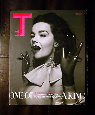 New York Times Style Magazine BJORK COVER FEATURE February 2015