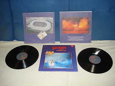 Lp- Queen- Live At Wembley 86  Doble Lp   Made In Spain 1992