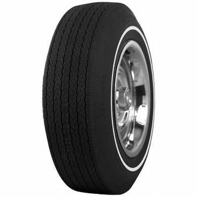 D70-14 Firestone Poly/Glass Pinstripe Whitewall Tires