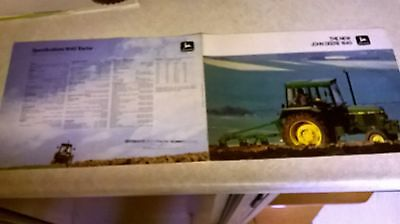 the new john deere  1640 sales brochure