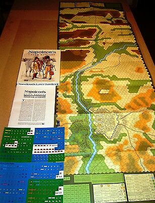 WARGAME:Napoleon's Later Battles I by 3W no AH COMPASS MMP GAMERS SPI GMT