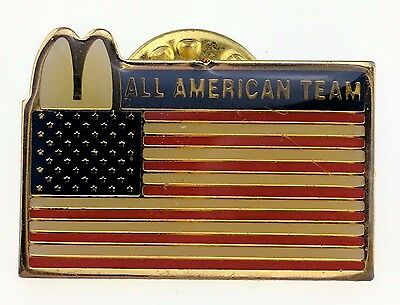 McDonald's All American Team Pin United States Flag Lapel Employee Crew