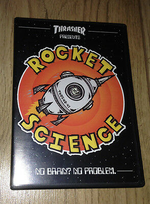 Thrasher Rocket Science Skateboard DVD Skatevideo (Real,Spitfire,Independent)