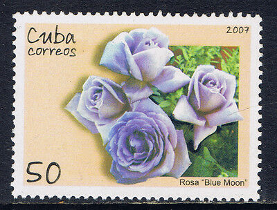 Caribbean Country #4756(3) 2007 50 cent ROSES - FRAGRANT CLOUD MNH