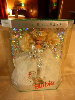 Happy Holidays 1992 Barbie Doll Special Edition  NRFB Mint