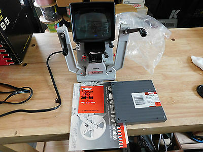 Hervic Minette Viewer Editor S-5 In Box..with Paperwork...little Use If At All