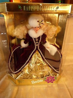 Happy Holidays 1996 Barbie Doll Special Edition  NRFB Mint
