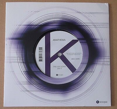 """ANATHEMA The Lost Song - Part 3 2014 UK limited edition vinyl 7"""" Ambient Mix"""