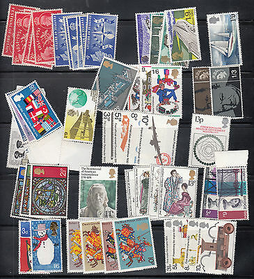 Great Britain 21 MNH COMPLETE Sets
