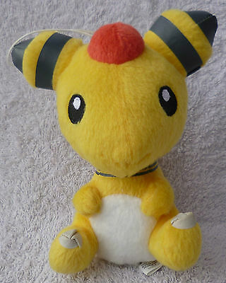Official Banpresto Pokemon 2013 UFO Chibi Ampharos Soft Plush Toy Doll Japan 5""