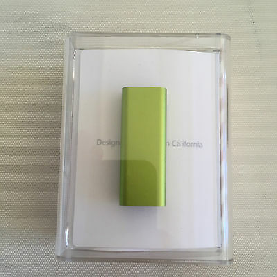 Apple iPod Shuffle 3. Generation Green (4GB) Limited Edition