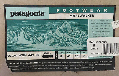 Patagonia Marlwalker Wading  Boots  79171 Fly Fishing- Mens Size 8 (EU 41) - NEW