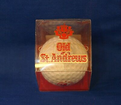 Old St Andrews Scotch Whisky 5cl Miniature Golf Ball
