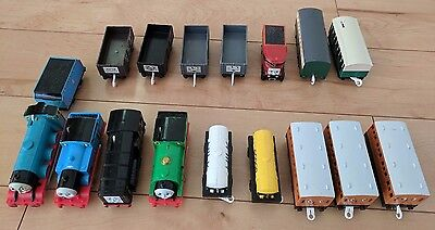 Lot of 16 TOMY Thomas and Friends Trackmaster Trains Engine Motorized Tested