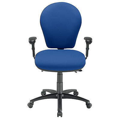 Energi-24 'posture Task' Office Operators Chair - Blue