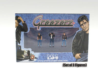 NEW FIGURINES-Set of 3 - Greezerz - 1/64 scale figure - AMERICAN DIORAMA