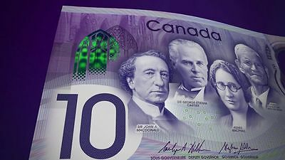2017 Canada 150th Commemorative Dollar Polymer UNC Banknote IN STOCK