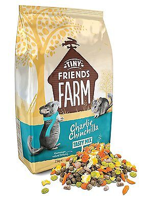 Charlie Chinchilla Tasty Mix 2.5 kg * Brand New * Fast Delivery